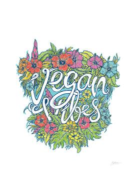 Vegan Viber Typhograpy