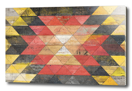 Reclaimed Triangle Pattern