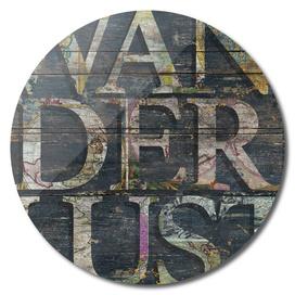 Reclaimed Wanderlust - ArtPrint