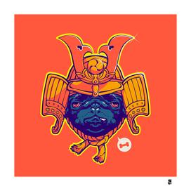 Samurai Pug
