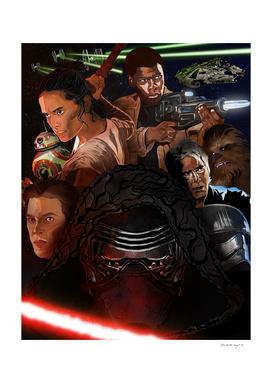 STAR WARS (The Force Awaken)