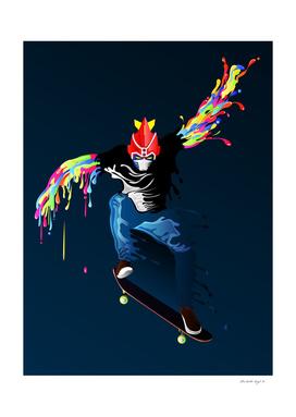 Skater Voltes V