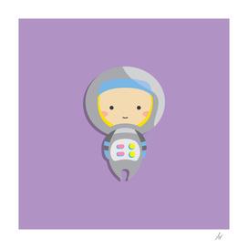 Kiddo 02   Astronaut