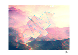 3d hills and the paperbird