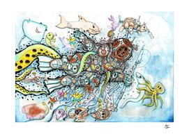 Vinvtage Diver