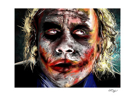 The Joker Painted