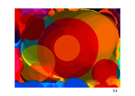 Abstract Art Expressionist Zen Circles