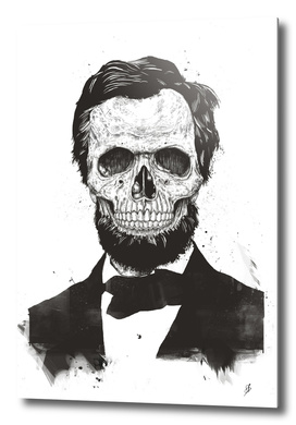 Dead Lincoln (b&w)