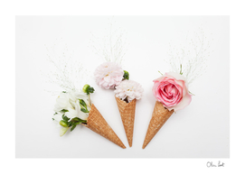 Triple ice-blossom