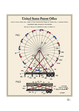 Amusement Ride Patent