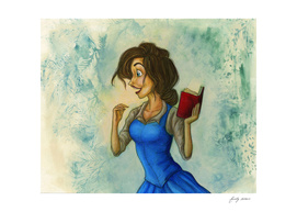 Beauty and her Book