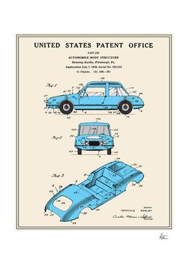 Automobile Body Patent