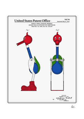Drinking Bird Patent