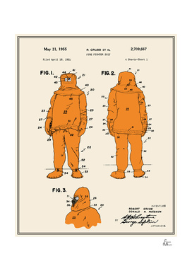 Fire Fighter Suit Patent