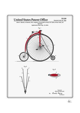 High Wheel Bicycle Patent