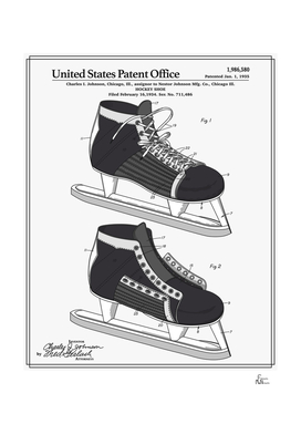Hockey Skate Patent