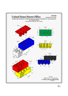 Toy Building Brick Patent
