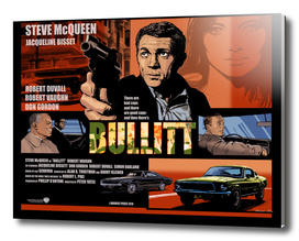Bullitt Movie Poster