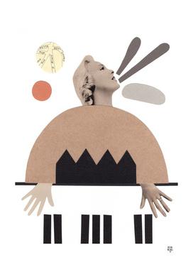 La pianista de jazz