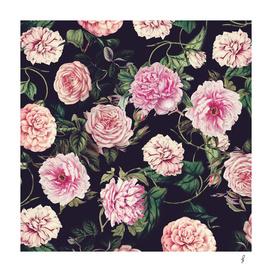 Dark Floral Pattern