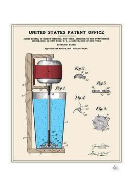 Beverage Mixer Patent