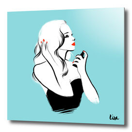 Femme au parfum