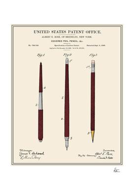 Pencil Set Patent