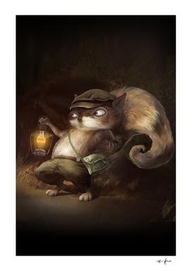 Squirrel Lantern