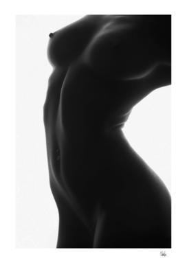 Woman's Bodyscape - Nude