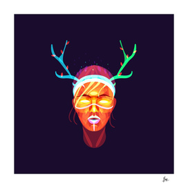 GIRL SHAMAN - the spirit of the deer