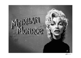 Marilyn Monroe - vintage movie card