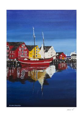 Skandinavian village
