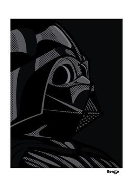 Star Wars Pop Art - Vader black
