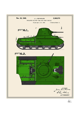 Tank Patent