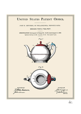 Tea Pot Patent