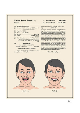 Vampire Teeth Patent