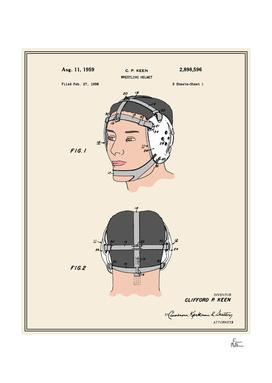 Wrestling Helmet Patent