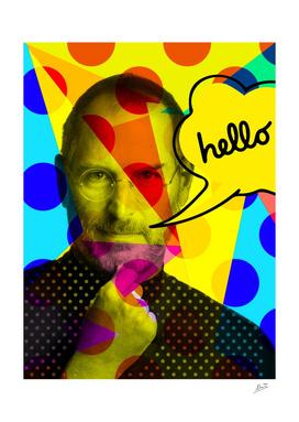 Steve Jobs Pop Art