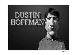Dustin Hoffman - vintage movie card