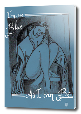 As Blue