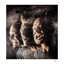 Split the Atom album art