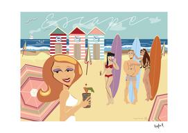 Escape to a Beach Distraction