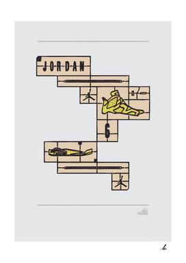 DIY-Air Jordan 6