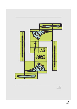 DIY-Air force 1