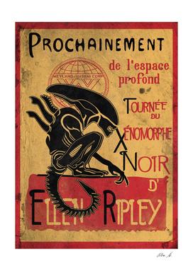 Tournee du Xenomorphe Noir