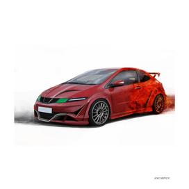 Honda Civic Type R Artrace body-kit.
