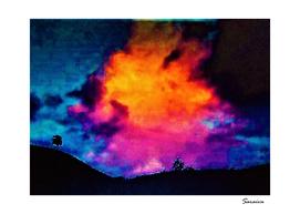 Sunset in Mantena / Brazil