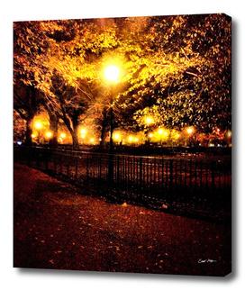 tompkins square park at night
