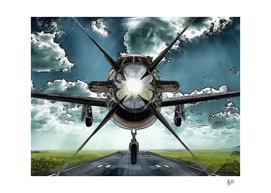 AVIATION ART - PILATUS PC 12