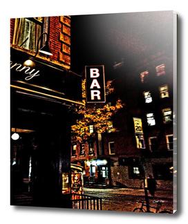 bar sign east village